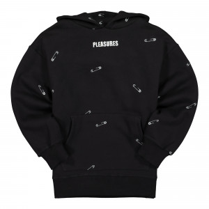 Pleasures Safety Embroidered Hoody ( P20F023 / Black )