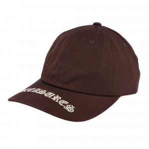 Pleasures Heavy Metal Low Profile Snapback ( P20F051 / Brown )