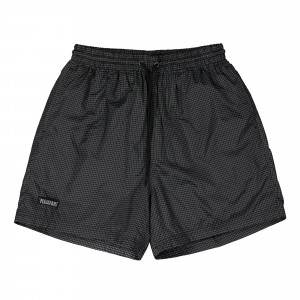 Pleasures Brick Active Shorts ( P20SU016 / Black )