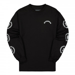 Pleasures Ritual Long Sleeve Shirt ( P20SO031 / Black )