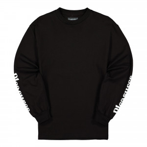 Pleasures Touch Long Sleeve Shirt ( P20SU040 / Black )
