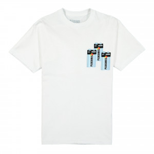Pleasures Charge T-Shirt ( P20W030 / White )