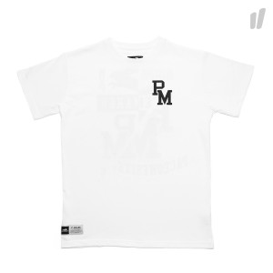 Pacemaker Accident Graduated MVP Tee ( White / Black )