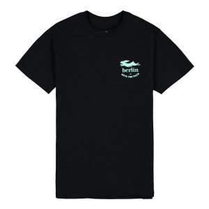 Pacemaker x Berlin Sets The Pace Tee ( PMB1 / Black / Ocean Green )