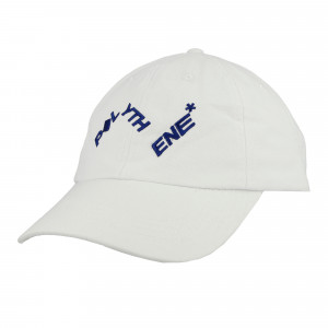 Polythene Optics Distorted Logo Cap ( PO-CA-01-WHT-SC50 )