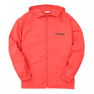 Polythene Optics Nylon Zipped Windbreaker ( PO-FZJ-01-RED-SC46 )