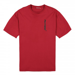 Polythene Optics Jersey Shortsleeve ( PO-SS-02-BLK-RED )