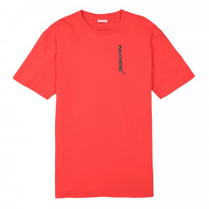 Polythene Optics Metal Rod Short Sleeve T-Shirt ( PO-SS-02-RED-SC46 )