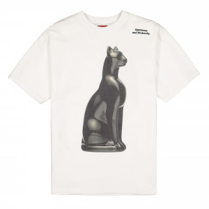 Pressure Chat Noir T-Shirt ( White )
