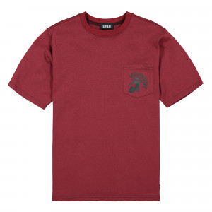 U.P.W.W. Pocket Tee ( PT01B / Burgundy )