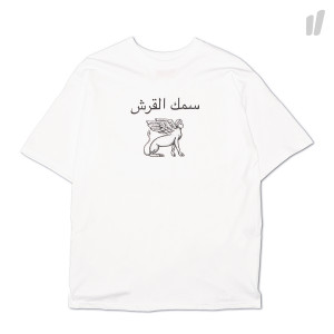 Pressure Sculpture Tee ( White )