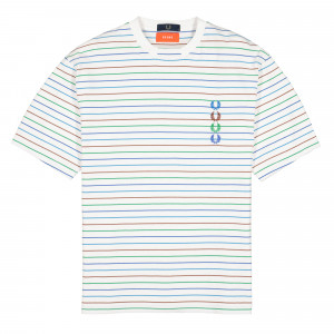 Beams x Fred Perry Striped T-Shirt ( SM8021-100 )