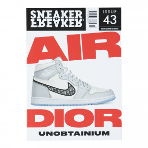 Sneaker Freaker Air Dior Cover Issue 43 ( SFG0043 )