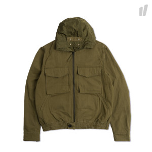 Nilmance Hooded Flight Jacket ( SS18MA-01 / Olive )
