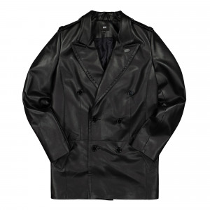 Neige Vegan Leather Coat ( SS2024 / Black )
