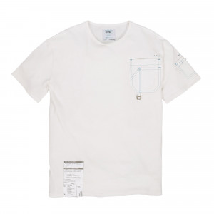 C2H4 Workwear Tee ( ST-002 / White )