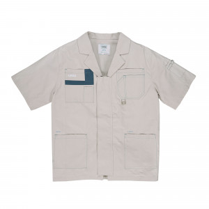 C2H4 Workwear Shirt ( ST-010 / Gray )