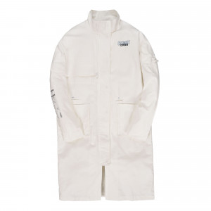 C2H4 Workwear Lab Coat ( ST-019 / White )