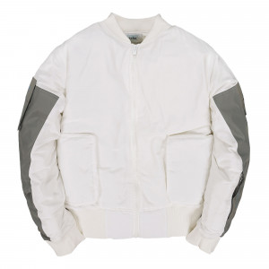 C2H4 Workwear MA-1 Jacket ( ST-023 / White )