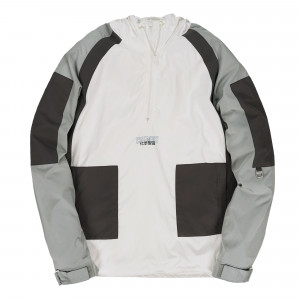 C2H4 Workwear Hooded Pullover ( ST-025 / White )