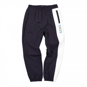 Beams x Fred Perry Embroidered Lauren Wreath Beams Shell Trousers ( ST8026-K12 )