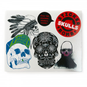 Sticker Bomb Book - Skulls
