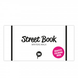 Street Book Graffiti Coloring HardbackStreet Book Graffiti Coloring Hardback