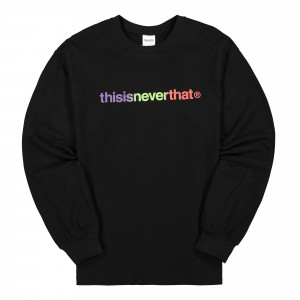 thisisneverthat T-Logo Longsleeve Top ( TNCOCLS002 / Black )