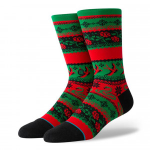 Stance Stocking Stuffer Crew Socks ( U545D19STO-GRN )
