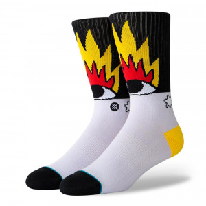 Stance Fire And Eyes Socks ( U556D19FIR-MUL )