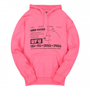 Used Future Dog Hoodie ( UDF-HD-101-PK / Pink )