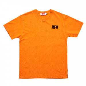 Used Future UFU AD T-Shirt ( UAS-TS-201 / Orange )