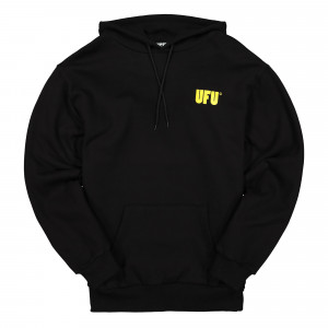Used Future UFU AD Hoodie ( UDF-HD-301-BK / Black / Yellow )