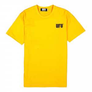 Used Future UFU AD T-Shirt ( UDF-TS-501-YL / Yellow )
