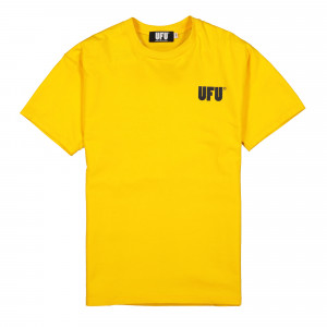 Used Future UFU AD T-Shirt ( UDF-TS-501 / Yellow )