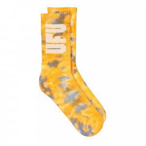 Used Future Tie Dye Socks ( UES-SC-201-YL / Yellow )