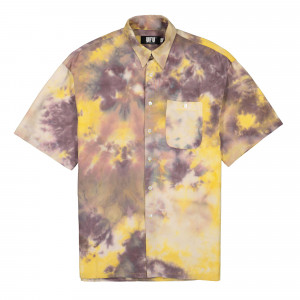 Used Future Tie Dye Shirt ( UES-SH-301-YL / Yellow )