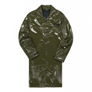 U.P.W.W. Long Slicker Raincoat ( LR2 / Green )