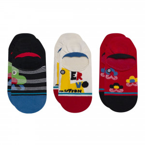 Stance Wmns Loverution 3 Pack Socks ( W145B20LOV-MUL )