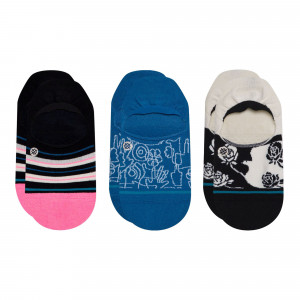Stance Wmns Reign Check 3 Pack Socks ( W145B20REI-MUL )