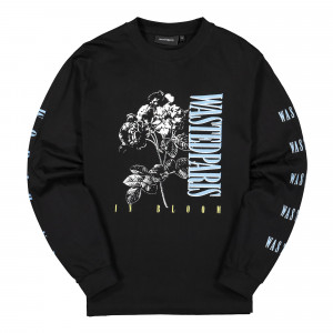 Wasted Paris In Bloom Longsleeve ( Black )