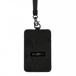 Wasted Paris Basswood Neck Bag ( Black )