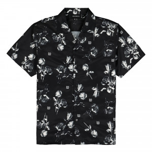 Wasted Paris Allover Charming Shirt ( Black )