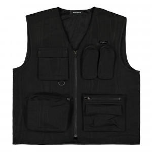 Wasted Paris Basswood Tactic Vest ( Black )