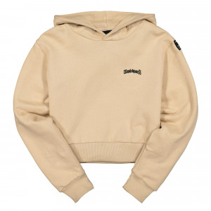 Wasted Paris Wmns Crop Essential Hoodie ( Desert )