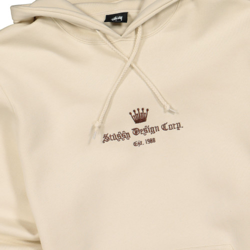 Stussy Old English App. Hoodie ( 118368 / 0047 / Cement )