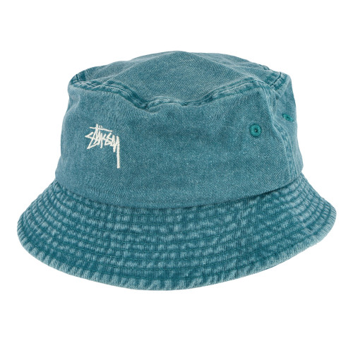 Stussy Stock Washed Bucket Hat ( 132980 / 0401 / Green )