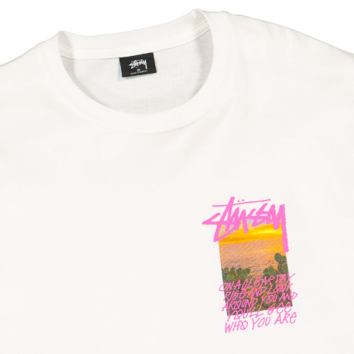 Stussy Clear Day Tee ( 1904502 / 1201 / White )