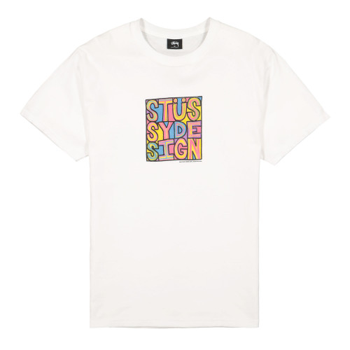Stussy Clyde Tee ( 1904503 / 1201 / White )