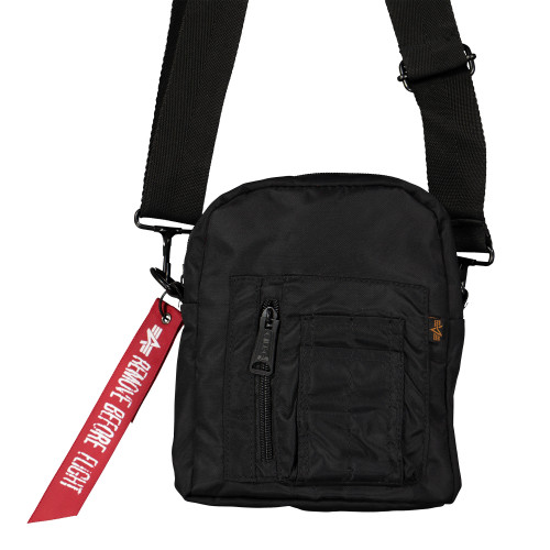 Alpha Industries Crew Carry Bag ( 196924 / 03 Black )
